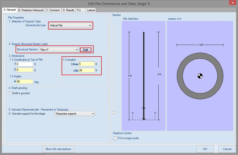 DeepFND/HelixPile example: Helical Pile Design - DeepEx