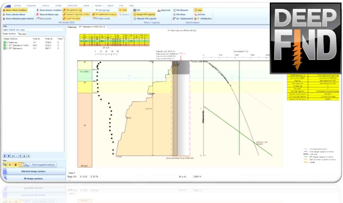 Deep Foundations Design Software - DeepEx