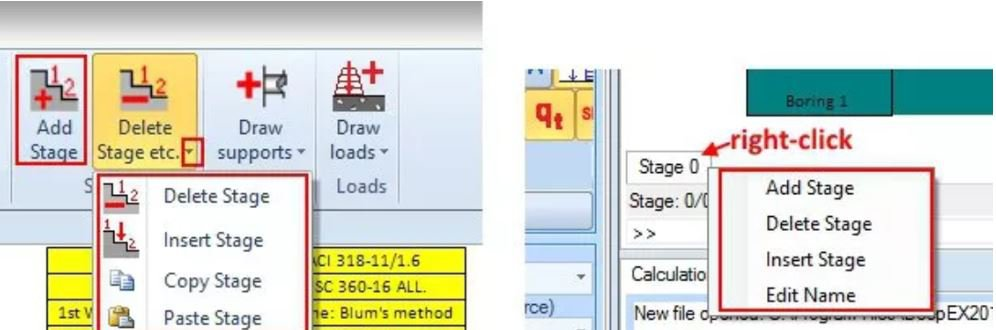Construction Stages in DeepEX Software.JPG